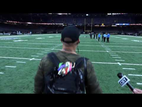 Jimmy Graham blows off New Orleans media