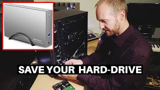 WHY I USE A HARD DRIVE ENCLOSURE | RSHTech HDD Enclosure Review