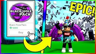 BUYING BLACK HOLE PACK IN ROBLOX DESTRUCTION SIMULATOR