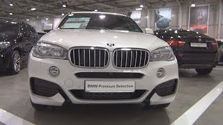 BMW X6 40d xDrive M Pack (2018) Exterior and Interior