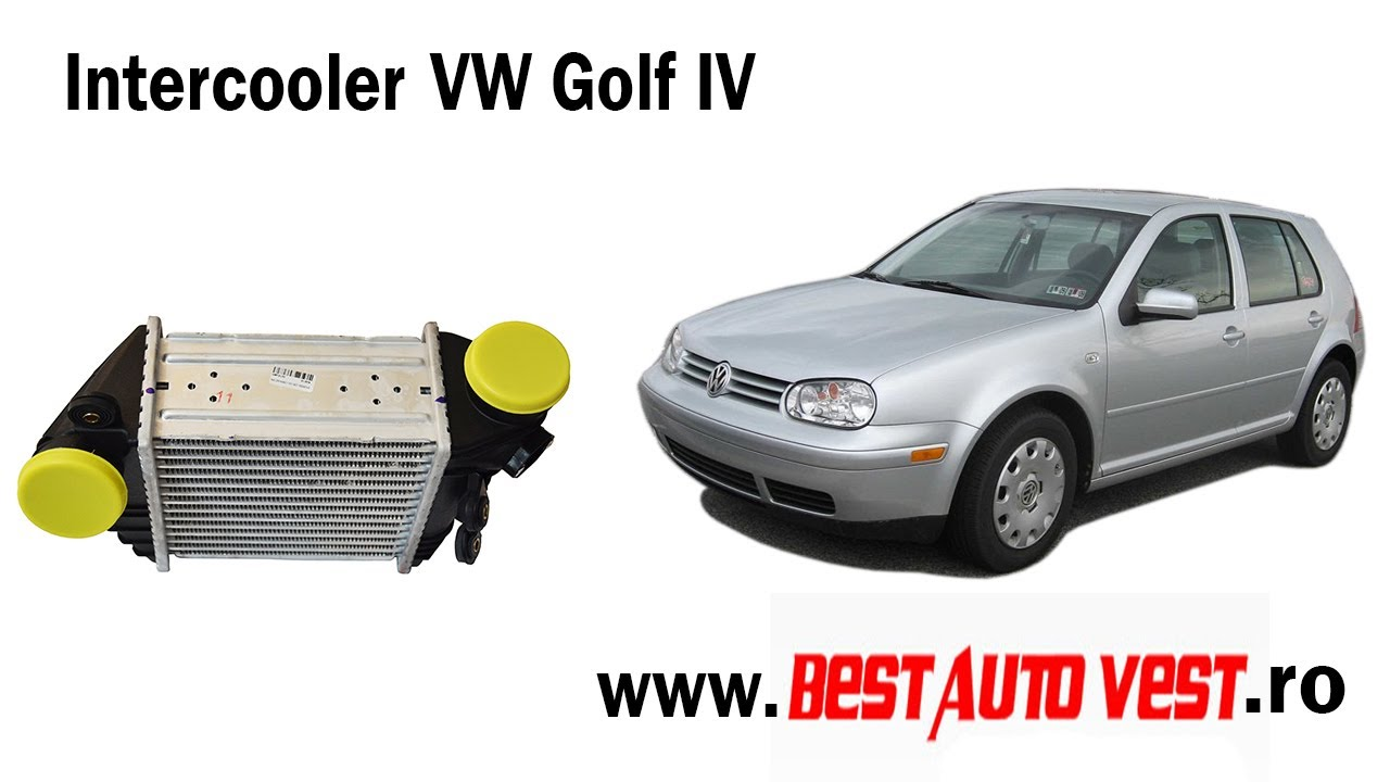 Intercooler per VW Golf IV Hatchback (1J1) BEW 1.9 TDI 101 ...