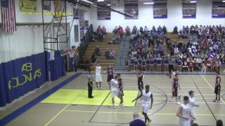 Acton Boxborough Varsity Boys Basketball vs Westford 1/13/17