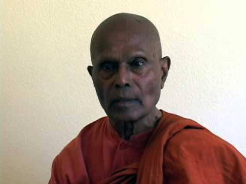 "Most Ven. Henepola Gunarathana. ""Life as a Buddhist Priest"" Dhamma discussion"