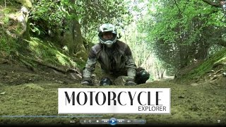 Byways of the UK (1): Alexis from Motorcycle Explorer Magazine rides the Wolvens Lane in Surrey