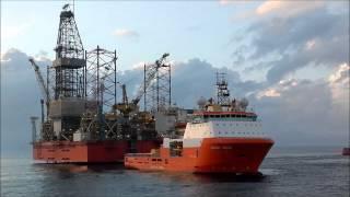 West Elara i Nordsjøen - Juli 2012