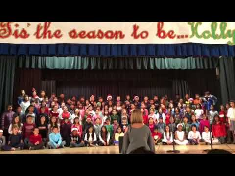 Holiday Performance at Holly Avenue Elementary School  2017