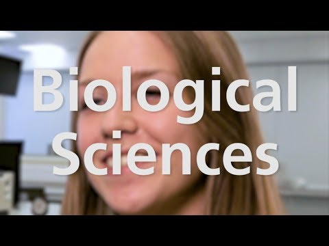 Biological Sciences at the University of Leicester