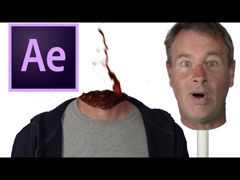 Remove Your Head! Halloween After Effects Tutorial