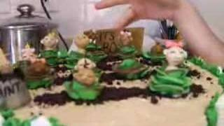 Cabbage Patch Baby Shower Cake