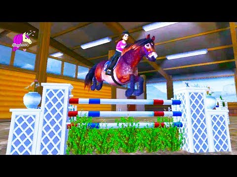 Learning To Jump ! Star Stable Online Horse Let's Play Game