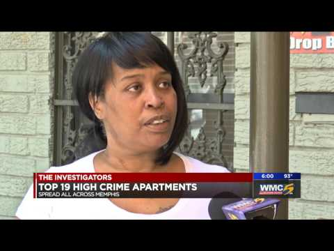 Top 19 Memphis Apartments with Crime