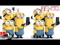 3D Minions Short Movies Compilation - 3D Side by Side (SBS)
