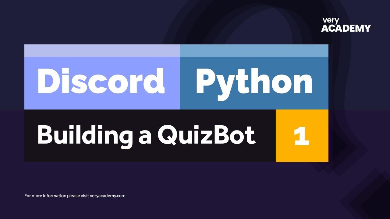 Discord Quiz Bot with Python Django DRF and Heroku Deploy