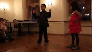 Kids dance for Rowdy Rathore and Vishnuvardhana songs