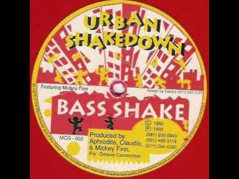 "Urban Shakedown - Bass Shake (Original red single sided 12"" version)"