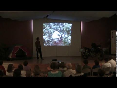 First slideshow riding a motorbike through Africa 4x4 adventure Video Blog