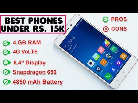 Best Smartphones Under Rs. 15000 [ New Updated ]