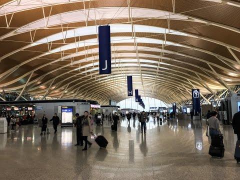 Inside Terminal 2 Shanghai Pudong International Airport PVG
