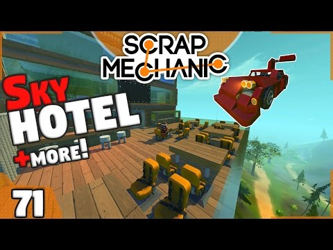 SKY HOTEL and more / Viewer Creations (Scrap Mechanic #71)