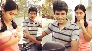 Arun Sanjana '3' Movie Love Scene Dubsmash | Tamil Real Pair Dubsmash | Valentine's Day Special |