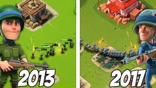 What Boom Beach Troops USED to Look Like!