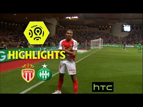 AS Monaco - AS Saint-Etienne (2-0) - Highlights - (ASM - ASSE) / 2016-17