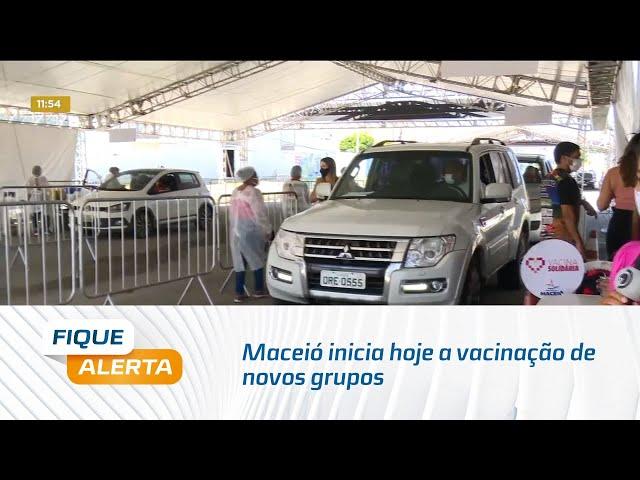 Maceió inicia hoje a vacinação de novos grupos