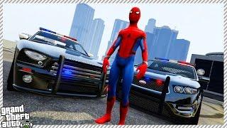 Spider-Man Becomes Police Officer!! (GTA 5 LSPDFR SPIDERMAN GAMEPLAY)