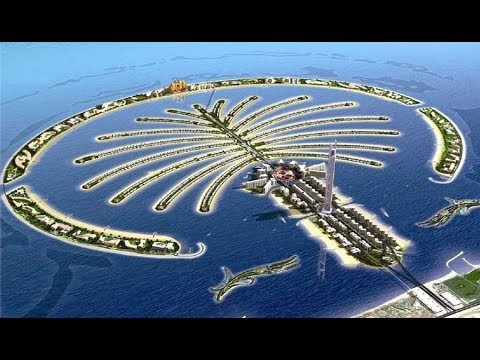 Palm Jumeirah Island Dubai Youtube