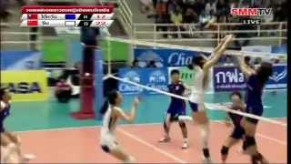 2012年第16屆亞洲青年女排錦標賽 冠軍戰 台灣vs中國 2012 10 09