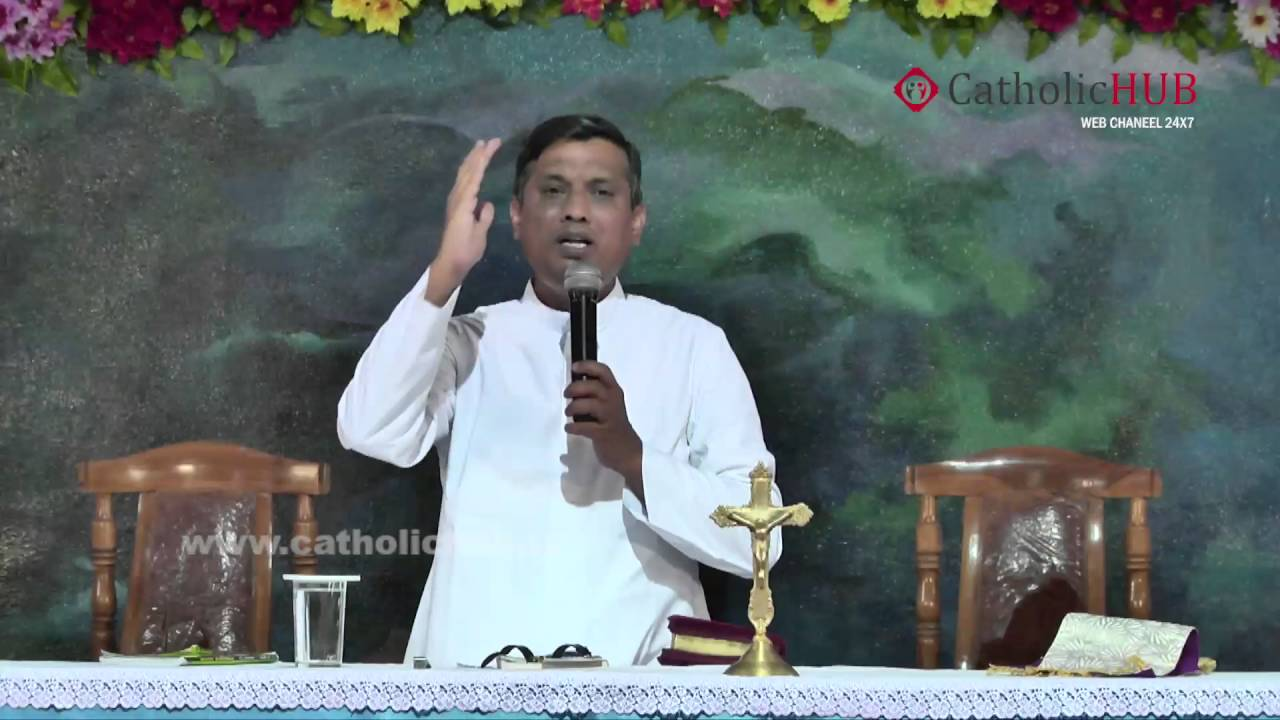 Tamil Retreat 5 Talk by: Rev.Fr.Syril Doss SVD @ DWC,Muthangi, HYD,TS,INDIA,03-08-16