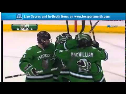 Final Five 2012 Semifinal Sioux vs Gophers