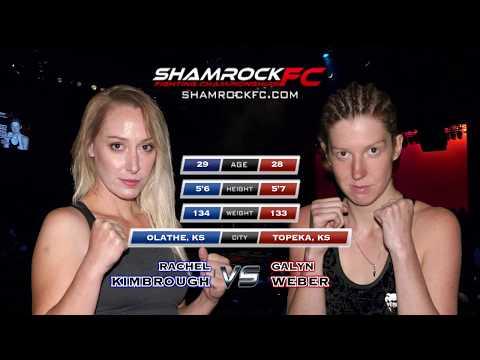 Shamrock FC 294 Rachel Kimbrough vs Galyn Weber