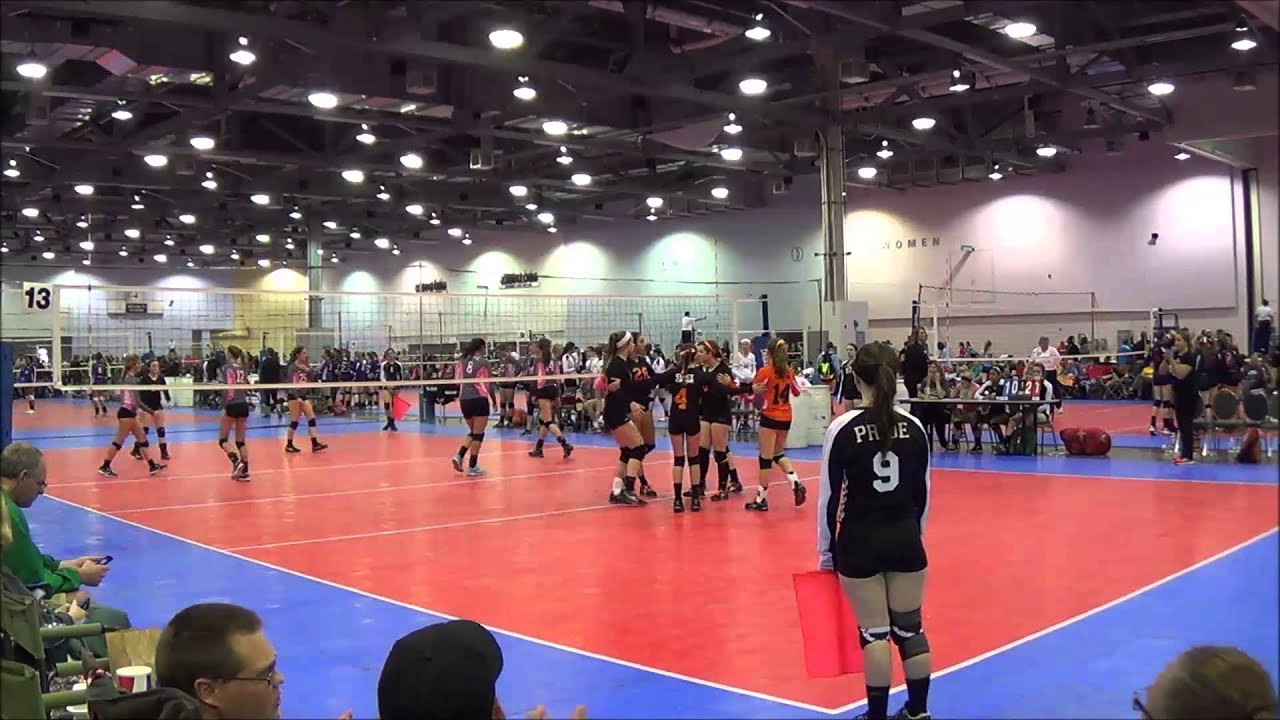 Cincy Crush Volleyball Club Team 15 Black Ovr Regional Championships Youtube