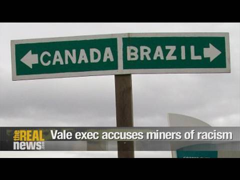 Vale exec accuses striking miners of racism