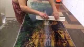 видео стекло с фотопечатью