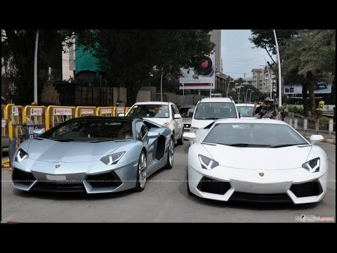 Lamborghini sports cars in Bangalore