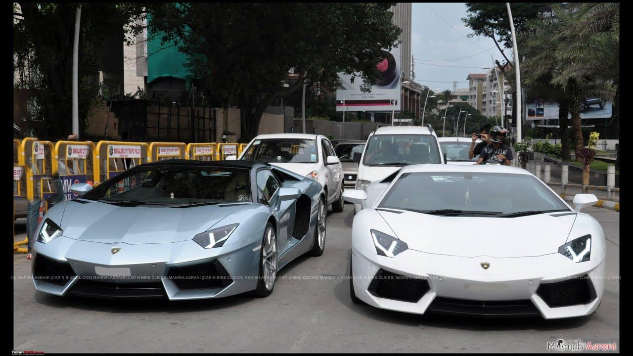 Lamborghini Sports Cars In Bangalore Youtube