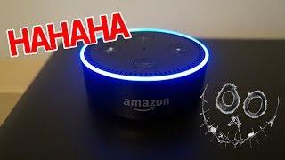 ALEXA lacht Nachts plötzlich - Mysteriöse AMAZON ECHO Vorfälle   MythenAkte
