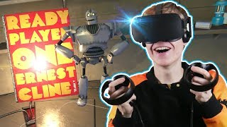 READY PLAYER ONE EASTER EGG HUNT! | Steam VR Home: Driftwood (Oculus Touch Gameplay)