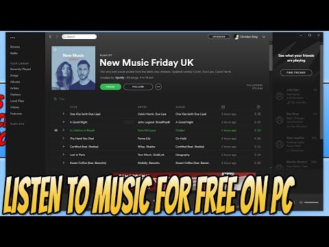 Listen To Music For FREE On Windows! | How To Install Spotify FREE Music Player Mp3