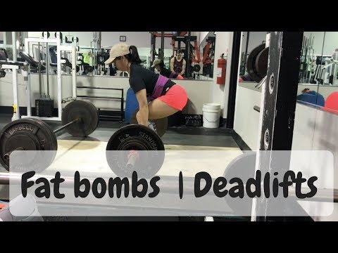August 17 | Fat bombs | OHP & Deadlifts