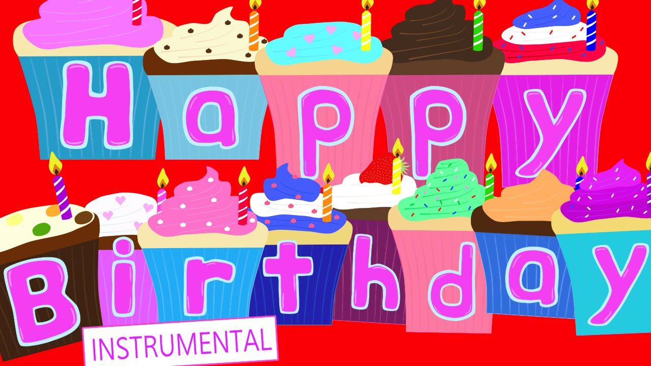 Happy Birthday Song (Instrumental) - YouTube
