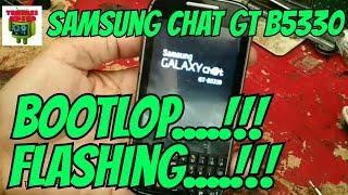 Cara Flash Samsung Galaxy Chat B5330 (Bootlop).