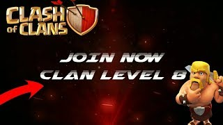 CLASH OF CLAN|| JOIN MY CLAN 🔥|| CLAN LEVEL 8|| 9 COMING SOON|| EDIT BY ARKA THANKS BRO|(CBA)