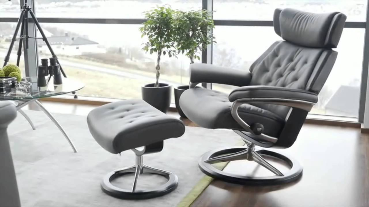 fauteuils et canap s stressless assortis youtube. Black Bedroom Furniture Sets. Home Design Ideas