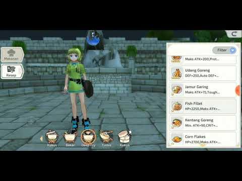 Mabinogi Fantasy Life All Recipe B Youtube
