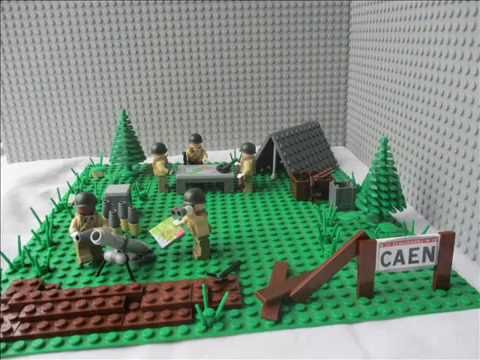 Moc: US outpost |Lego Army| - YouTube