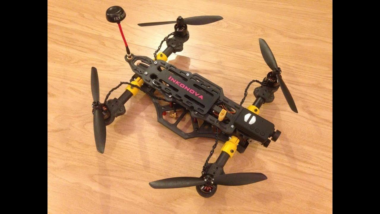 The Tilt A Dynamic Tilting Arms 3d Printed Quadcopter
