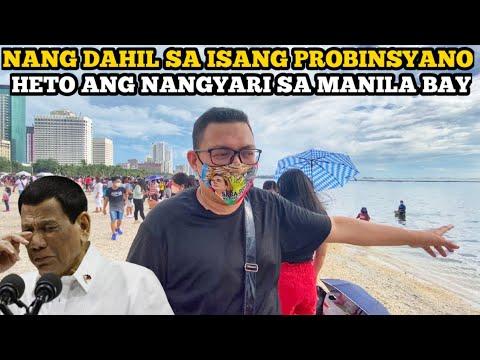 Download NANG DAHIL SA ISANG PROBINSYANO ITO ANG NANGYARI SA MANILA BAY